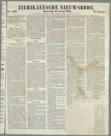 Zierikzeesche Nieuwsbode 1881-06-25