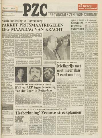 Provinciale Zeeuwse Courant 1974-10-03
