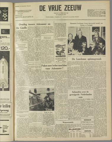 de Vrije Zeeuw 1961-02-10