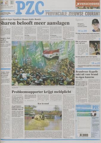 Provinciale Zeeuwse Courant 2004-04-19