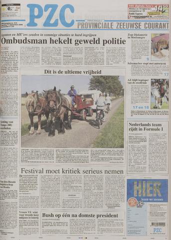Provinciale Zeeuwse Courant 2006-09-11