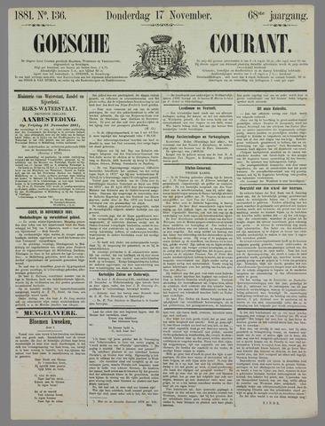 Goessche Courant 1881-11-17
