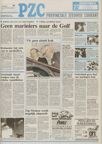 Provinciale Zeeuwse Courant 1991-01-08