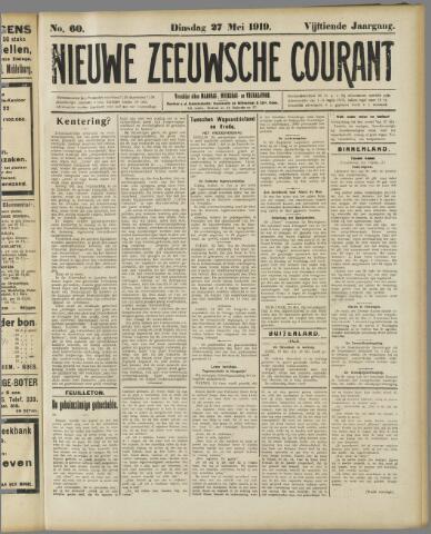 Nieuwe Zeeuwsche Courant 1919-05-27