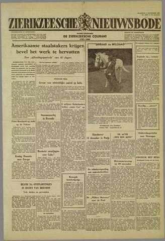 Zierikzeesche Nieuwsbode 1959-11-09