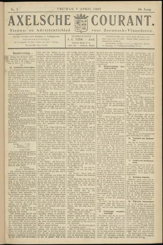 Axelsche Courant 1927-04-01