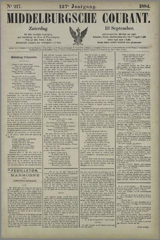Middelburgsche Courant 1884-09-13