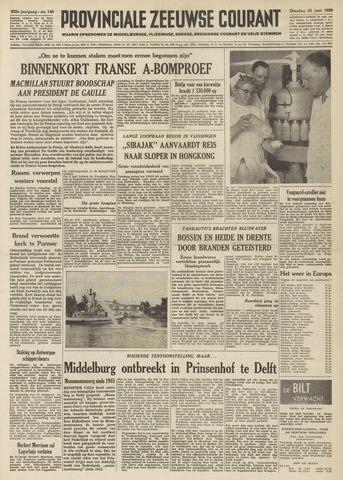 Provinciale Zeeuwse Courant 1959-06-23