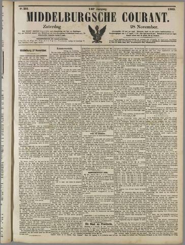 Middelburgsche Courant 1903-11-28