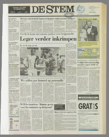 de Stem 1992-04-01