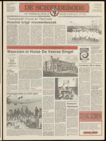 Scheldebode 1986-09-18