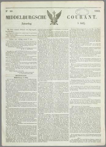 Middelburgsche Courant 1862-07-05