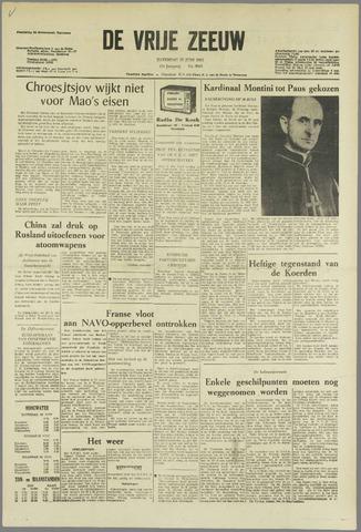 de Vrije Zeeuw 1963-06-22