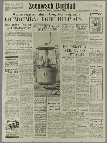 Zeeuwsch Dagblad 1960-07-21
