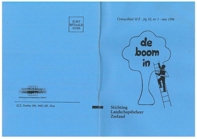 Landschapsbeheer Zeeland - de Boom in 1996-05-01