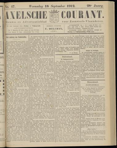 Axelsche Courant 1912-09-18