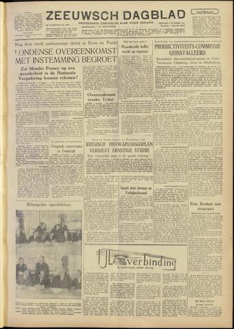 Zeeuwsch Dagblad 1954-10-05