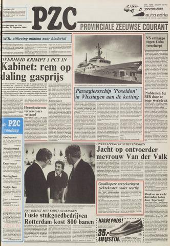Provinciale Zeeuwse Courant 1986-08-23