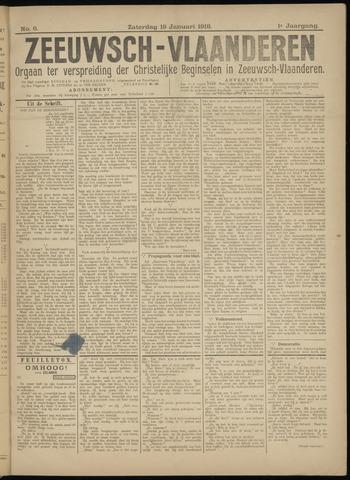 Luctor et Emergo. Antirevolutionair nieuws- en advertentieblad voor Zeeland / Zeeuwsch-Vlaanderen. Orgaan ter verspreiding van de christelijke beginselen in Zeeuwsch-Vlaanderen 1918-01-19