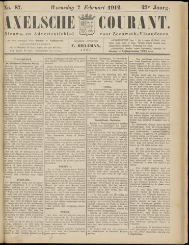 Axelsche Courant 1912-02-07