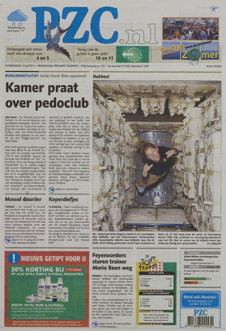 Provinciale Zeeuwse Courant 2011-07-14