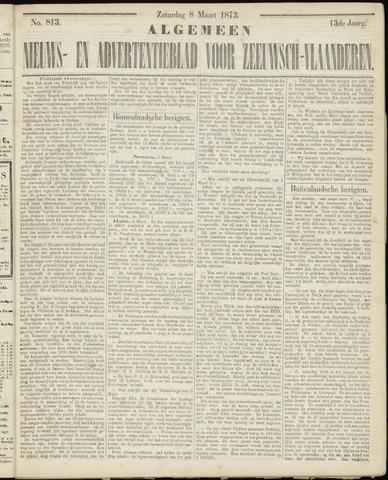 Ter Neuzensche Courant. Algemeen Nieuws- en Advertentieblad voor Zeeuwsch-Vlaanderen / Neuzensche Courant ... (idem) / (Algemeen) nieuws en advertentieblad voor Zeeuwsch-Vlaanderen 1873-03-08