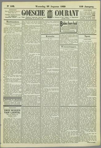 Goessche Courant 1929-08-28