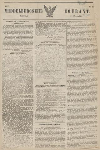 Middelburgsche Courant 1852-12-18