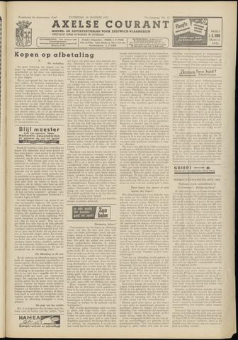 Axelsche Courant 1957-01-26