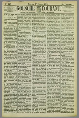 Goessche Courant 1917-10-27