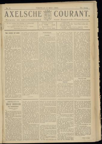 Axelsche Courant 1935-05-03
