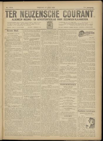 Ter Neuzensche Courant. Algemeen Nieuws- en Advertentieblad voor Zeeuwsch-Vlaanderen / Neuzensche Courant ... (idem) / (Algemeen) nieuws en advertentieblad voor Zeeuwsch-Vlaanderen 1931-07-17