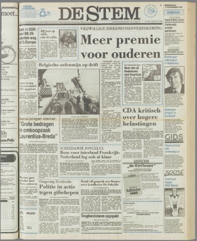 de Stem 1981-11-11
