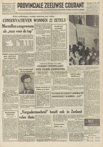 Provinciale Zeeuwse Courant 1959-10-10