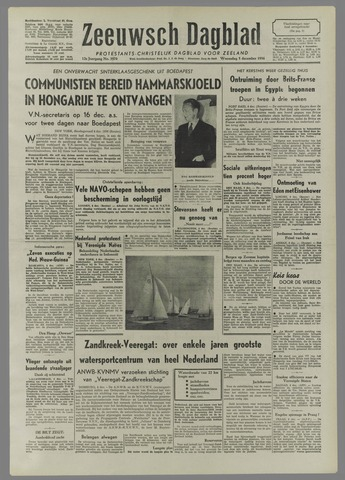 Zeeuwsch Dagblad 1956-12-05