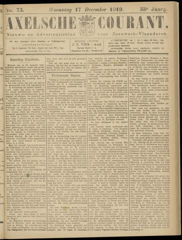 Axelsche Courant 1919-12-17