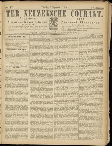 Ter Neuzensche Courant. Algemeen Nieuws- en Advertentieblad voor Zeeuwsch-Vlaanderen / Neuzensche Courant ... (idem) / (Algemeen) nieuws en advertentieblad voor Zeeuwsch-Vlaanderen 1904-09-06