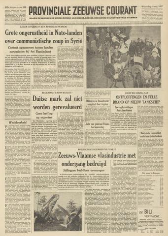 Provinciale Zeeuwse Courant 1957-08-21