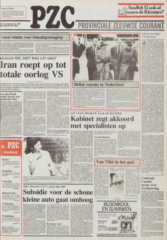 Provinciale Zeeuwse Courant 1988-07-05