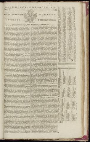 Middelburgsche Courant 1795-11-07