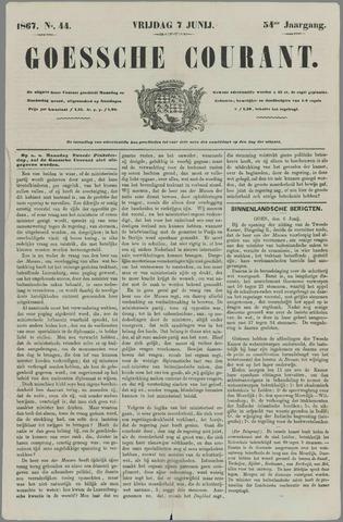 Goessche Courant 1867-06-07