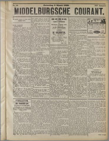 Middelburgsche Courant 1922-03-04