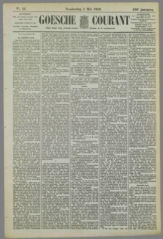 Goessche Courant 1919-05-01