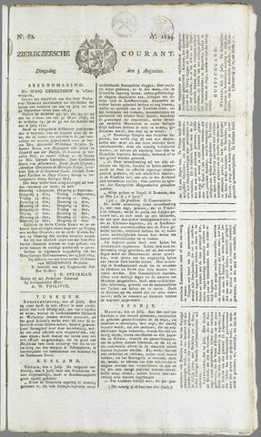 Zierikzeesche Courant 1824-08-03