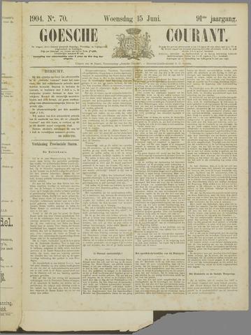 De Zeeuw. Christelijk-historisch nieuwsblad voor Zeeland 1904-06-15
