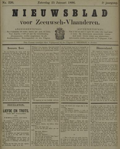 Nieuwsblad voor Zeeuwsch-Vlaanderen 1896-01-25