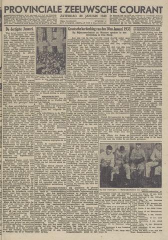 Provinciale Zeeuwse Courant 1943-01-30