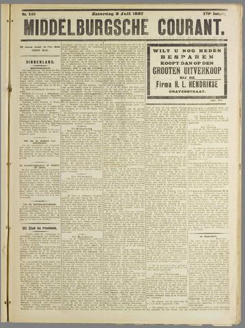 Middelburgsche Courant 1927-07-02