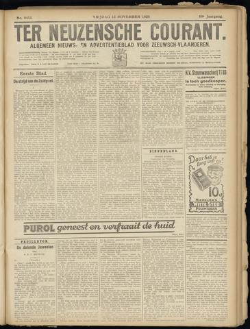 Ter Neuzensche Courant. Algemeen Nieuws- en Advertentieblad voor Zeeuwsch-Vlaanderen / Neuzensche Courant ... (idem) / (Algemeen) nieuws en advertentieblad voor Zeeuwsch-Vlaanderen 1929-11-15
