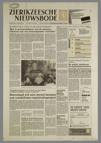 Zierikzeesche Nieuwsbode 1991-12-05